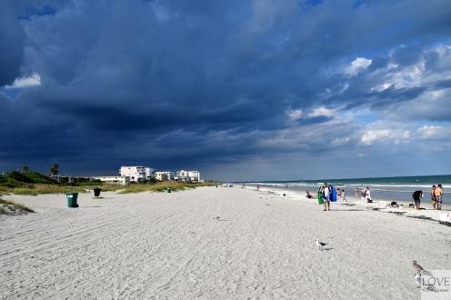 Burza nad Cocoa Beach