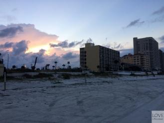 Bajeczne niebo w Daytona Beach