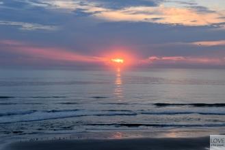 Wschód słońca w Daytona Beach