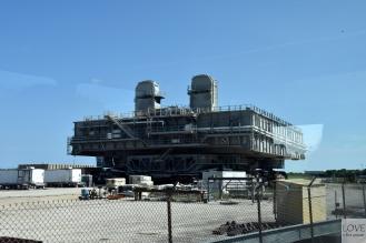 Platforma do transportu rakiet po przylądku Canaveral