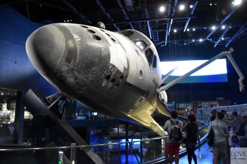 Prom kosmiczny Atlantis - KSC
