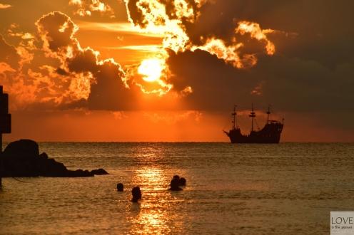 Zachód słońca w Clearwater