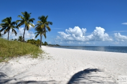 Rajska plaża w Bahia Honda State Park