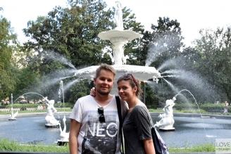 fontanna w Savannah