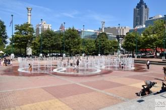 fontanna olimpijska Atlanta