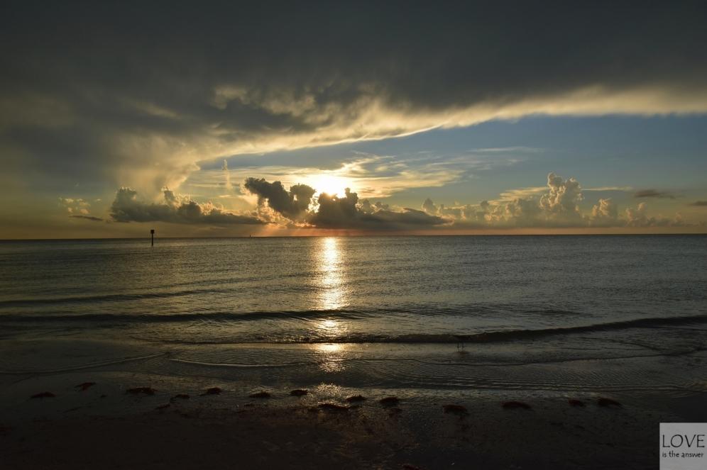 wspaniały koniec dnia w Clearwater