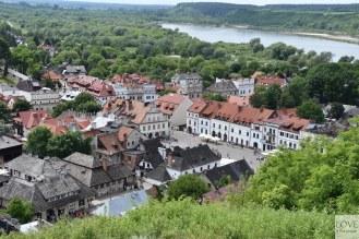 widok na Kazimierz z Góry