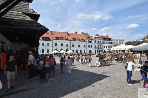 ryneczek w Kazimierzu