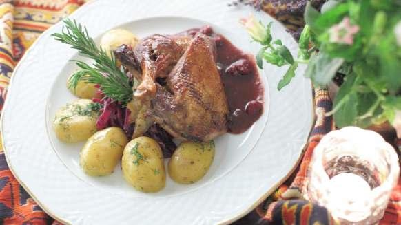 kaczucha w AleGlorii- zdjęcie ze strony restauracji
