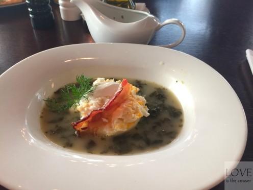 zupa szczawiowa- restauracja Lalo