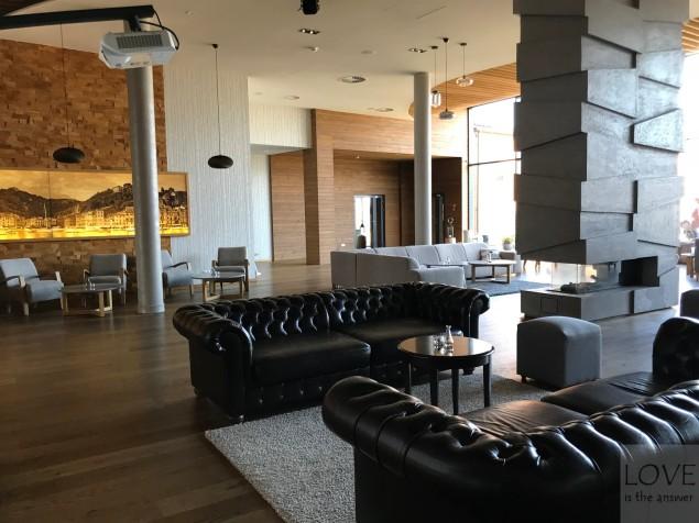a może relaks przy kominku? -Hotel Marina Club