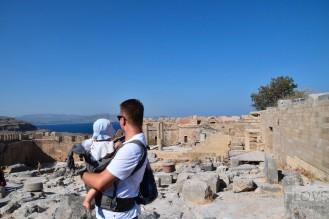 na Akropolu w Lindos