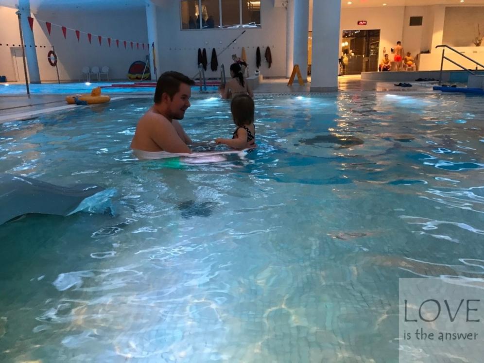 Na basenie w hotelu Grand Lubicz Ustka