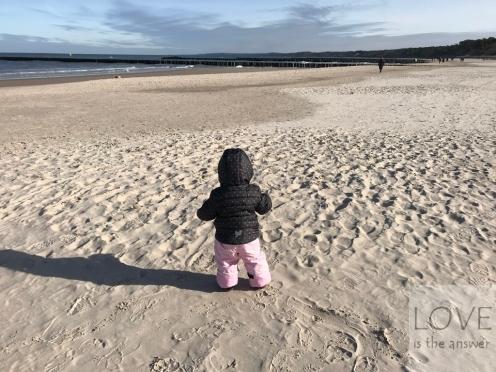 Oliwia na Plaży w Ustce